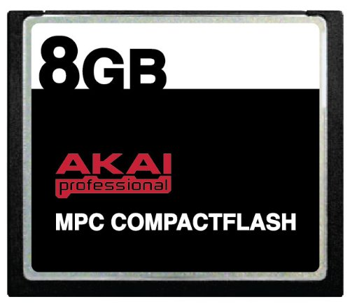 Buy 8GB Akai MPC CompactFlash CF Memory Card for MPC500, MPC1000, MPC2500 and MPC5000