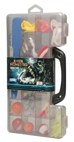 River Monsters Deluxe Tackle Kit, 137 Piece