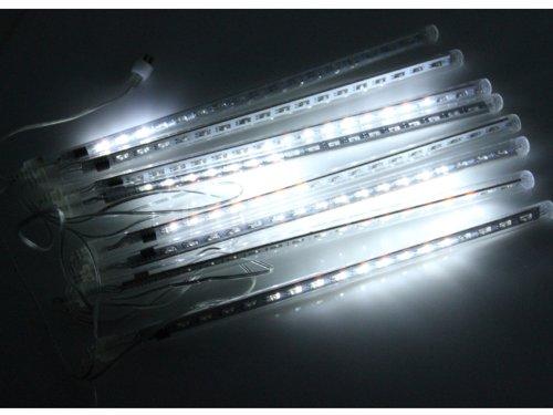 Meteor Shower Rain 144 LED Light Tube String