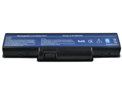 New Laptop Battery for Gateway Nv53 Nv52 Nv54 Nv58 Nv56 [Li-ion 10.8V 4400mAh]