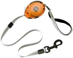 Planet Dog Zip Lead Retractable Leash, Orange, Small