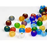Rocailles Perlen | 4.5mm, Matt, Colormix, 1000 Stück