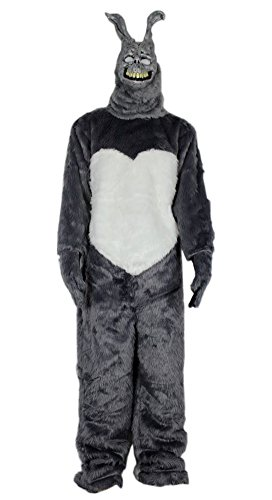 Donnie Darko Frank the Bunny Adult Costume Fancy Dress Mask Jumpsuit Faux Fur
