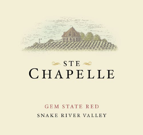 2012 Ste Chapelle Gem State Red 750 Ml