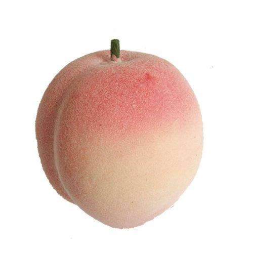 water-wood-home-household-foam-faux-juicy-peach-desk-table-fruit-ornament