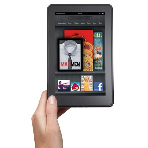 Kindle Fire, Full Color 7″ Multi-touch Display, Wi-Fi