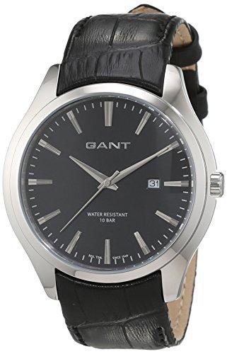 Gant W70691 - Reloj de pulsera hombre, Cuero, color Negro