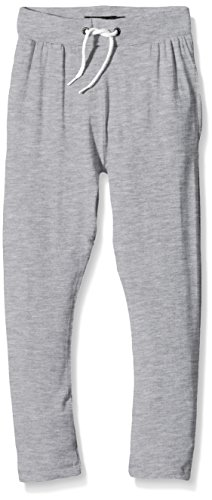 NAME IT nitPERLA K LOW CRUTCH PANT PT G SP16-Pantaloni sportivi Bambino    Grigio (Grey Melange) 140