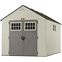 Suncast 8' x 13' Resin Storage Shed with 2 Windows