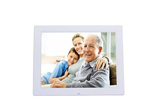 DINHAND 14 pollici Widescreen ad alta risoluzione Cornice digitale con Auto On / Off Timer