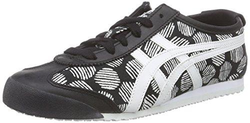 ASICS Mexico 66, Unisex-Erwachsene Sneakers, Schwarz (black/white 9001), 42.5 EU thumbnail