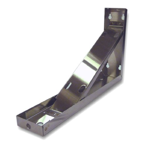 King Kbb-2-Ss Universal Wall/Ceiling Large Mounting Bracket For Heaters With Size B, D, And E