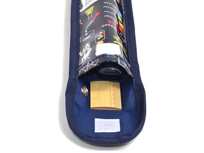 School Assistant recorder & ruler case aiming to a physician or scientist dreams (Navy)-Japan N4226100