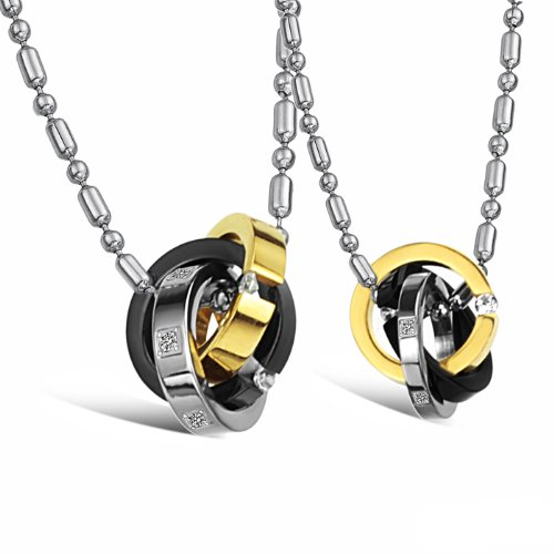 Opk Jewellery Necklaces Stainless Steel Neckwear Chains Pendants Necklets