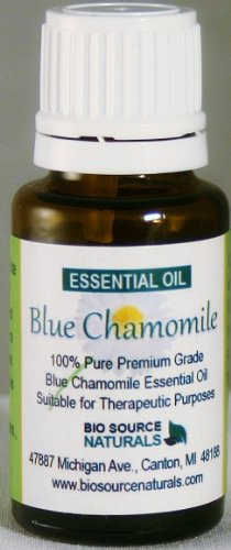Blue Chamomile Pure Essential Oil 30 ml / 1 oz. for Massage, Bruises, Eczema, Dermatitis