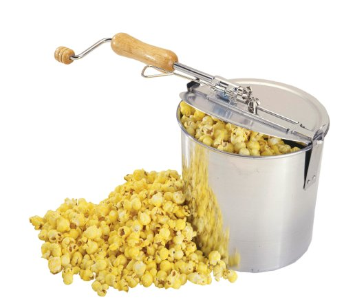 Hand Crank Kitchen Appliances: Fox Run Brands 55115 Popcorn Popper, Stovetop Hand Crank