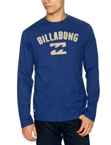 Billabong Moss Long Sleeve Printed Men's T-Shirt Estate Blue Medium