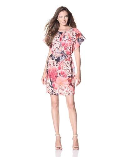 Ted Baker Women's Lelina Short Sleeve Dress  - Light Pink