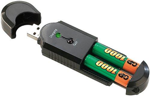 Chargeur d'accu USB.