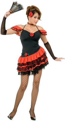 Spanish Dancer Halloween Costume (X-Large 14-16)