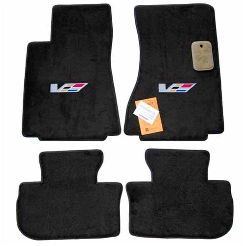 Nylon Carpet Black Coverking Custom Fit Front Floor Mats for Select Nissan Armada Models