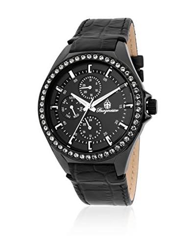 Burgmeister Reloj de cuarzo 529-622 Negro 40 mm