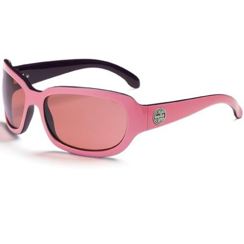 Bolle Fusion Tease Sunglasses,Pink Powder/Modulator Rose