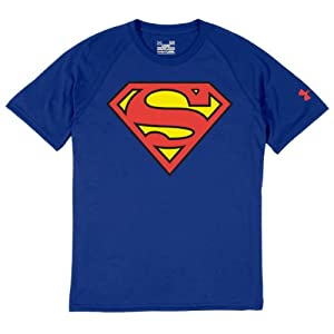 Under Armour Men Alter Ego Superman T-Shirt (XXL, Blue)