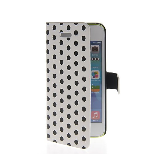 casepradise-polka-dot-leather-wallet-pouch-shell-stand-flip-etui-cover-case-for-apple-iphone-5c-whit