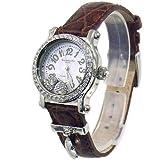 Alessandra Olla (アレサンドラ・オーラ) 腕時計 ムービングハート AO-4100-4 BR レディース