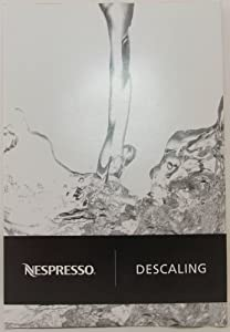 Original Nespresso Cleaning and Descaling Kit (2 Sachets Per Package) from Nespresso