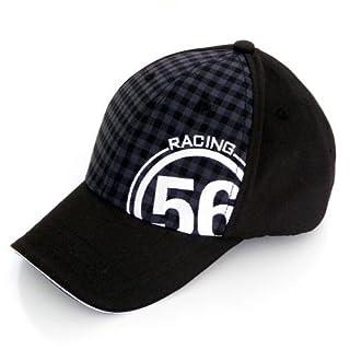 56design(フィフティーシックスデザイン)  56RACING TEAM OFFICIAL CAP(56レーシング チーム オフィシャル キャップ) ブラック×ホワイト