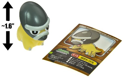 "Shieldon (#419) ~1.6"" Mini-Figure: Pokemon Kids DP National Encyclopedia Edition Series #7 (Japanese Import)"
