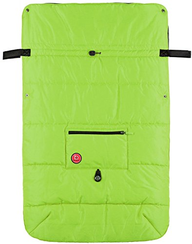 Blue Banana Stroller Blanket - Green