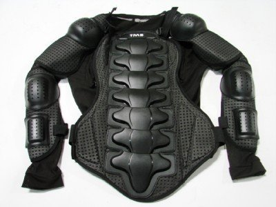 Motorcycle Full Body Armor Protector Street Motocross ATV Jacket Shirt (Extra Large)