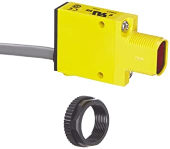 Banner SM31E Mini Beam DC Photoelectric Sensor, Opposed Emitter Mode, Cable Termination, 3m Sensing Range, 2m Cable Length