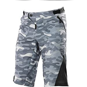 Buy Troy Lee Designs Ruckus Mens BMX Racing Shorts - Camo Gray by Troy Lee Designs