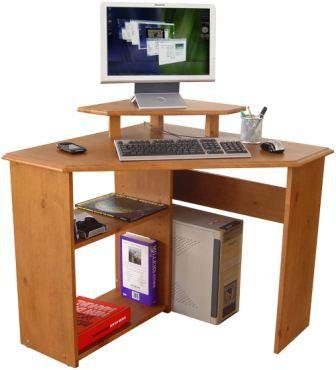 Teknik French Gardens Corner Desk Solid Traditional Design