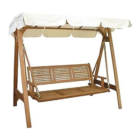 Balancín de jardín modelo texas 3 Estructura de madera