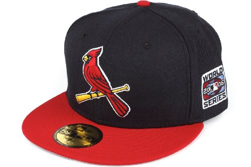 "New Era St. Louis Cardinals ""2006 World Series Alternate"" Side Patch Fitted Cap, 778 at Amazon.com"