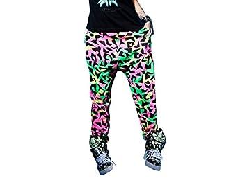 moonar fashion cool femme patalon harem hippe sarouel pantalon danser hip hop elastique couleur. Black Bedroom Furniture Sets. Home Design Ideas