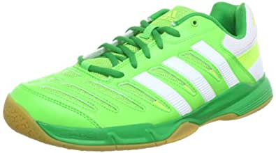 adidas Performance  Essence 10.1 W Indoor Shoes Womens  Green Grün (RAY GREEN F13 / RUNNING WHITE FTW / REAL GREEN S11) Size: 5 (36 2/3 EU)
