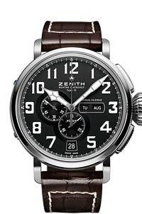 Zenith Pilot Montre d Aeronef Zenith Type 20 Annual Calendar Mens Watch 03.2430.4054-21.C721