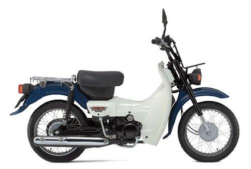 SUZUKI バーディ / BirDie セル有り BA43A グレイッシュブルー 50cc 国内モデル