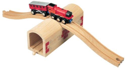 Maxim Wooden Railway Train Tunnel de train par-dessus et au-dessus - Brio Thomas Compatible