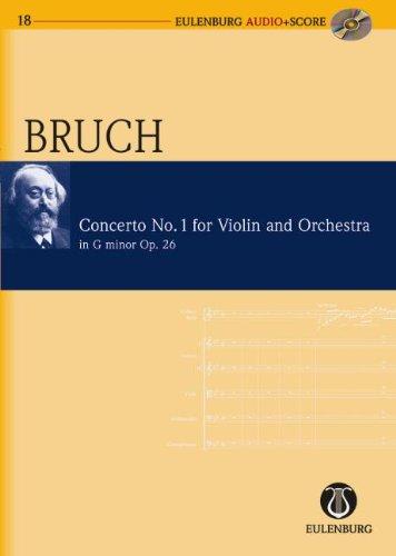 Violin Concerto No. 1 in G Minor, Op. 26: Eulenburg Audio+Score Series