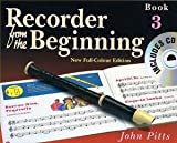 Recorder From The Beginning : Pupil's Book/CD 3 (2004 Edition)