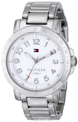 Tommy Hilfiger Women's 1781397 Analog Display Quartz Silver Watch - 41Xy5zquowL - Tommy Hilfiger Women's 1781397 Analog Display Quartz Silver Watch