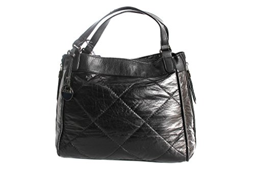 Borsa donna Lookat shopping a mano y370 nero