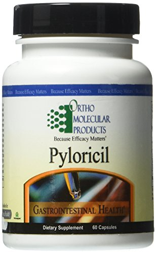 Ortho Molecular Products, Pyloricil, 60 Capsules [Health and Beauty]